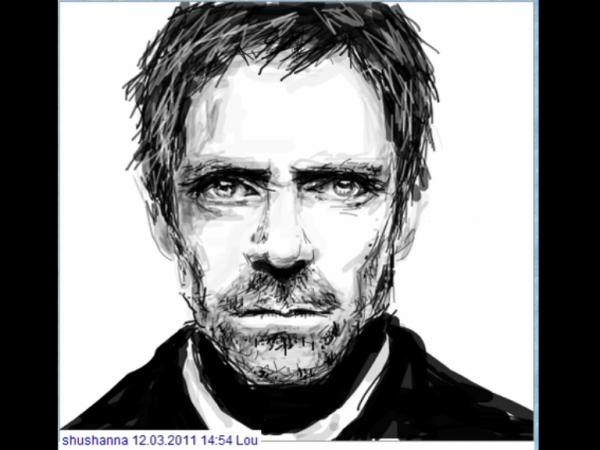 Hugh Laurie by anka